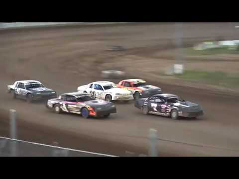 IMCA Stock Car Heat 2 Independence Motor Speedway 7/27/19