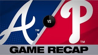 7/26/19: Balanced offense lifts Braves past Phils | Braves-Phillies Game Highlights 7/26/19