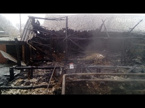 За сутки на пожарах в Мордовии погибли двое