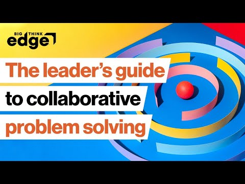 Lead your team toward collaborative problem solving