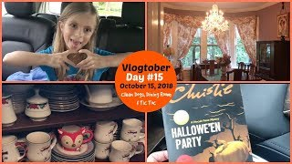Vlogtober Day #15 | October 15, 2018 | Clean Dogs, Dining Room and Trending on Tic Toc
