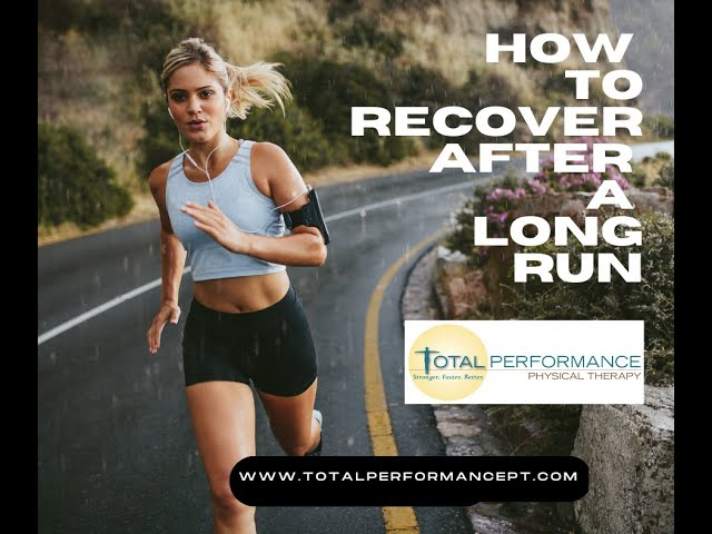 How to Recover From a Long Run