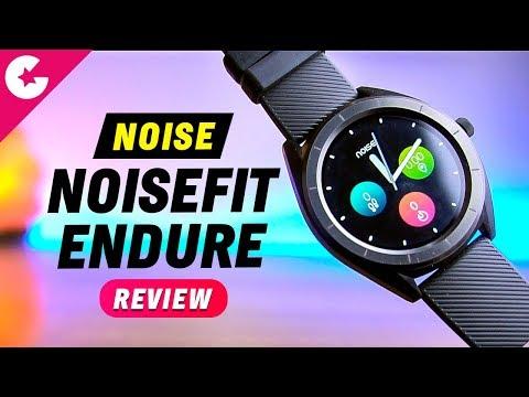 NoiseFit Endure Fitness Smartwatch Unboxing & Review!!