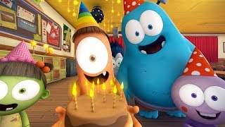 Funny Animated Cartoon | Spookiz | Happy Birthday | 스푸키즈 | Kids Cartoon | Videos for Kids