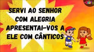 PLAY-BACK - CELEBRAI COM JÚBILO AO SENHOR TODOS OS MORADORES DA TERRA