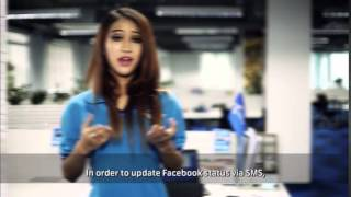 How to use Facebook SMS