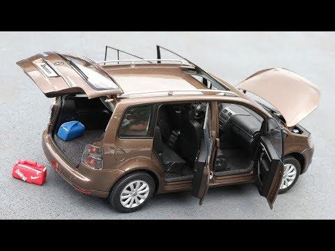1:18 Volkswagen Touran I TSI Chinese version - Paudi [Unboxing]