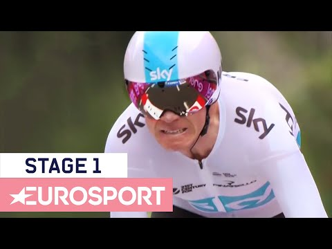 Giro d'Italia 2018 | Stage 1 Highlights | Cycling | Eurosport