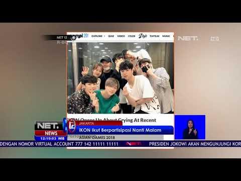 2 Boyband Negeri Gingseng Ikut Serta Ramaikan Closing Ceremony Asian Games 2018-NET12