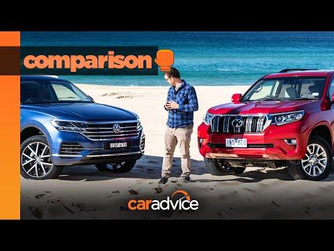2019 Volkswagen Touareg V Toyota LandCruiser Prado Comparison