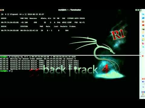 """BackTrack 4 R1 - Airolib-ng - Crack WPA2 (""""Fast"""" WPA2 Cracking)"""