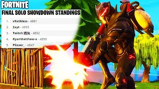 Fortnite Solo Showdown Winners - 50,000+ V-BUCKS GIVEN AWAY for FREE in Fortnite Battle Royale!