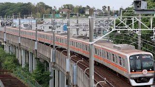 八千代中央駅発車シーン 東洋高速2000系