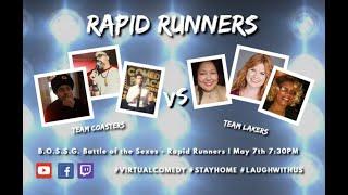 BOSSG - Battle of the Sexes - Rapid Runners