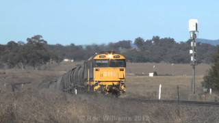 Diesel locomotives : Doppler effect : Australian trains