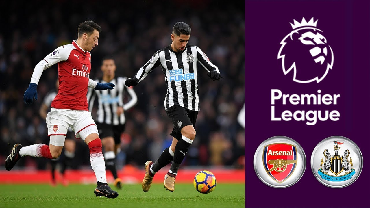 Arsenal Vs Newcastle United ᴴᴰ 16.12.2017