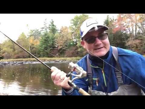 Fall Spin Fishing For Trout - Basics