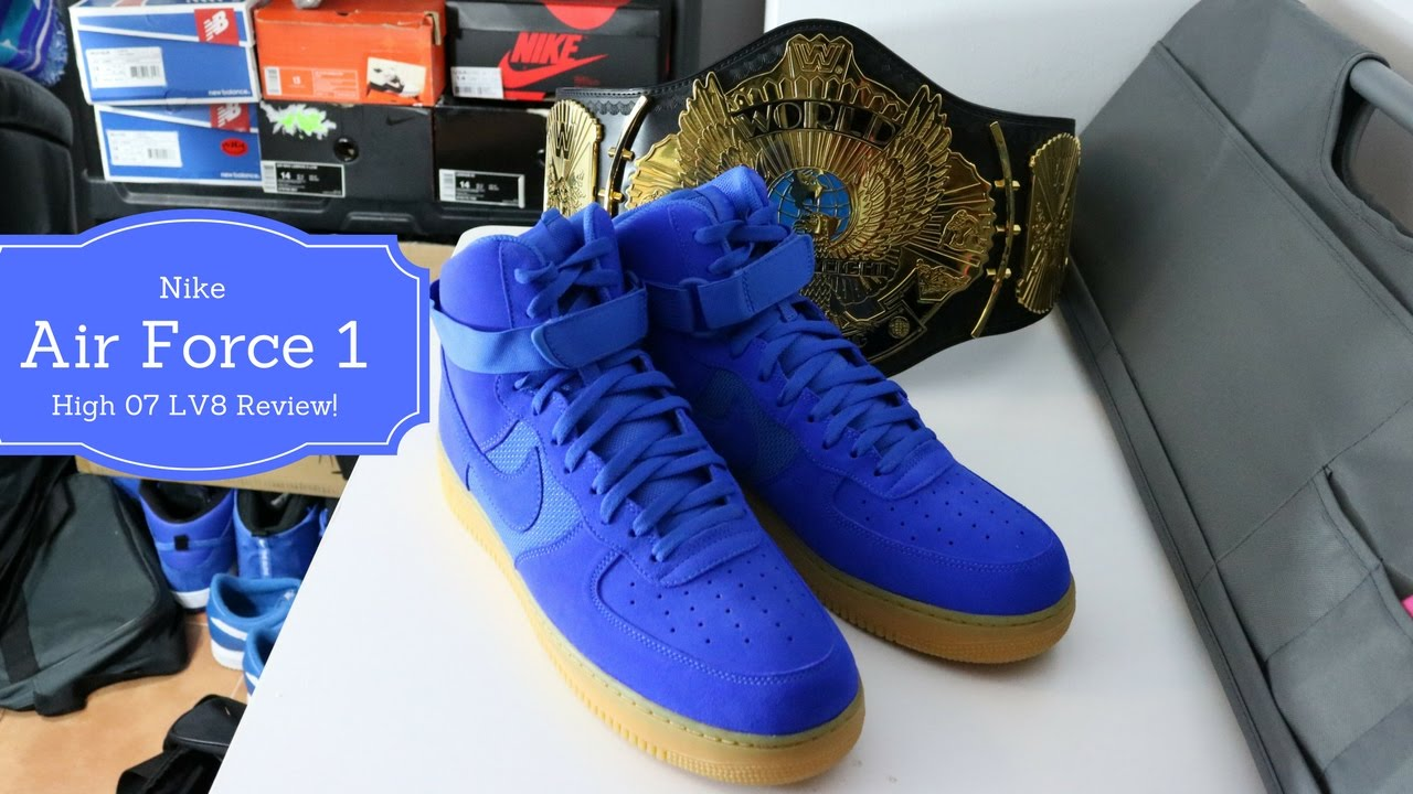 air force 1 high 07 lv8 blue