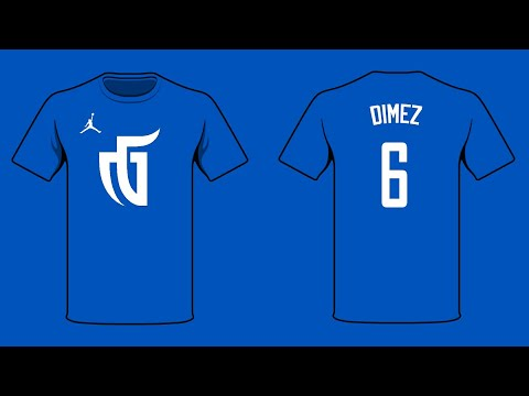 NBA 2K LEAGUE - CUSTOM SHOES COLORWAY | HOW TO CREATE THE MAVS GAMING AIR JORDAN AB2 PE