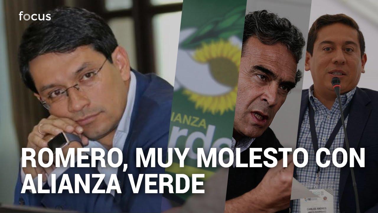 """""""Fajardo sale favorecido"""": Romero cuestiona cambio de reglas en los verdes"""