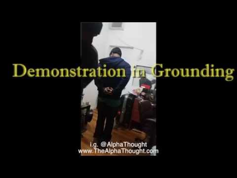 Alpha Thought Crystal Energy demonstration