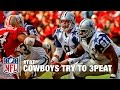Dallas Cowboys Led by Aikman & Irvin Attempt to 3Peat | NFL Vault Stories