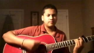 envuelveme en ti guitar cover