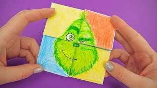 The Grinch 2018 Emoji Face Changer | FUNNY PAPER GAME FOR EVERYONE
