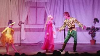 Новогодний детский спектакль Питер Пен- Зима 2013-2014г