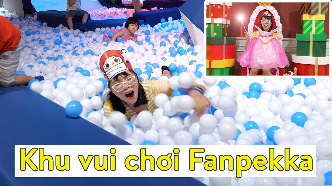 Khám Phá Khu Vui Chơi Fanpekka Cực Hot Tại Aeon Mall Tân Phú