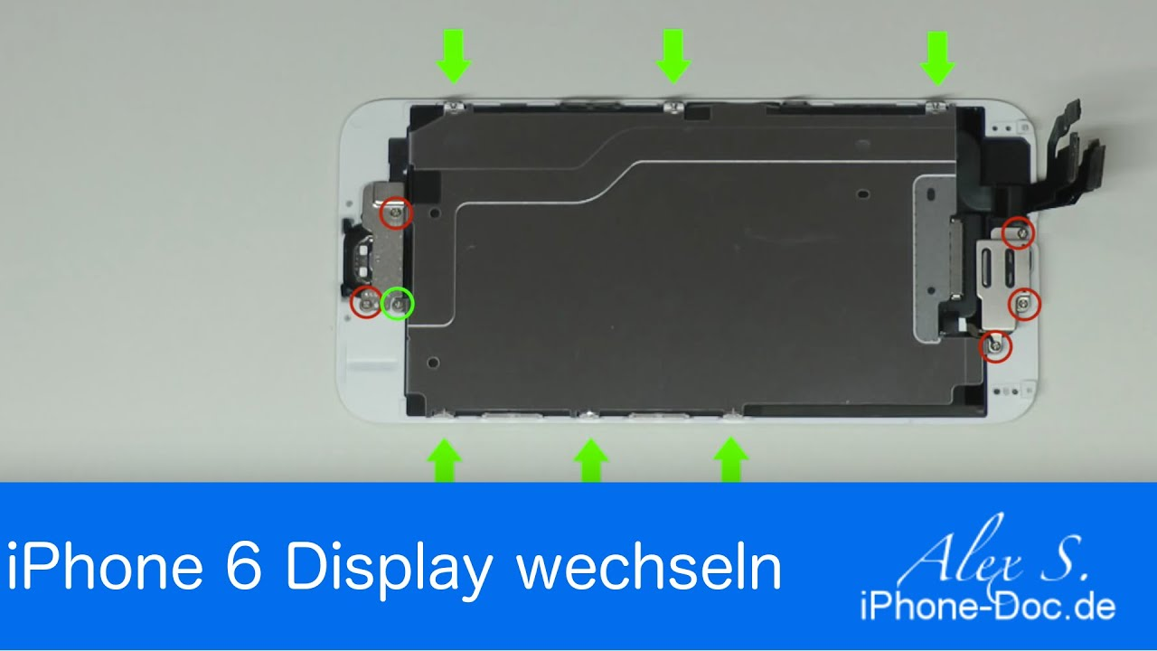 Iphone  Display Wechseln