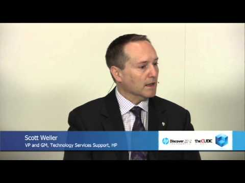 Scott Weller - HP Discover 2012 - theCUBE - #HPDiscover