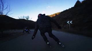 Xmass Inline Downhill With The OGcrew