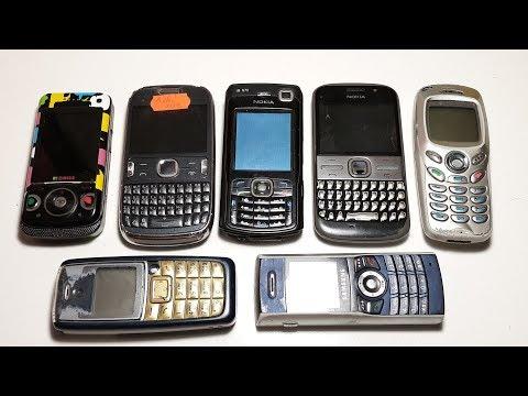 Куча телефонов с аукциона. Кот в мешке. Что внутри коробки ? Nokia E5, Asha 302, Samsung N500