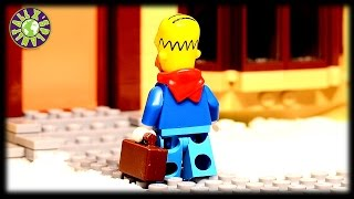 Lego Simpsons Secret Santa.  Funny Christmas Joke.