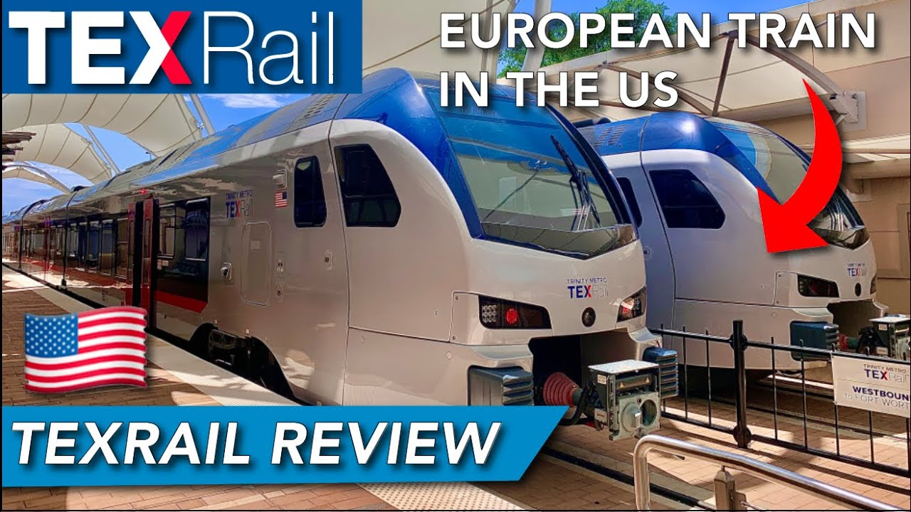TEXRail FLIRT latest train sets review : the key to revitalize commuter trains in the US ?