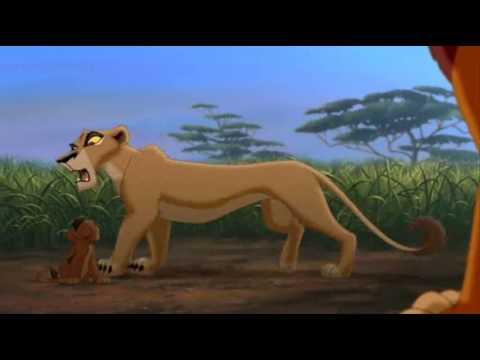 Le roi lion 2 - Premiere confrontation avec Zira