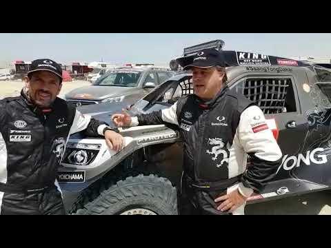 Óscar Fuertes y Diego Vallejo valoran su exitoso Dakar