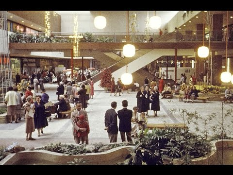 Southdale 1956 Richfield Edina Shopping Mall History Video