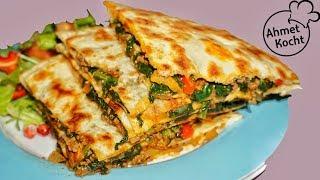 Taschen mit Hackfleisch und Spinat | Ahmet Kocht | türkisch kochen | Folge 269