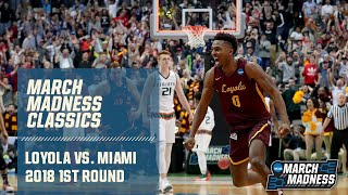 Loyola Chicago vs. Miami in 2018 NCAA tournament (FULL GAME)