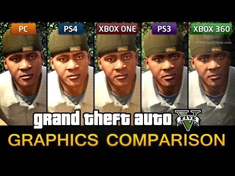 GTA 5 Graphics Comparison - PC / PS4 / Xbox One / PS3 / Xbox 360
