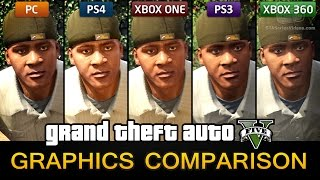 GTA 5 Graphics Comparison - PC / PS4 / Xbox One / PS3 / Xbox 360(, 2015-04-19T08:52:39.000Z)