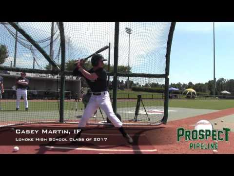 Casey Martin prospect video, IF, Lonoke High School Class of 2017