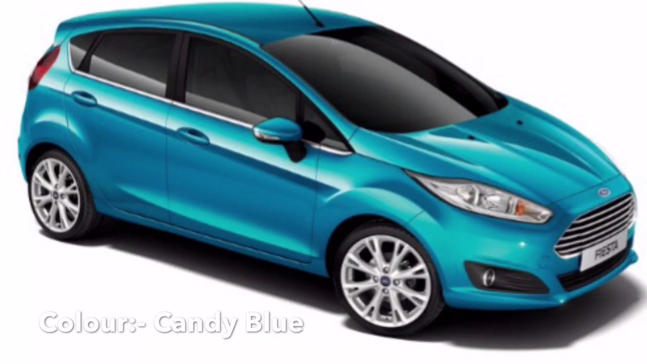 Ford Fiesta Colours In Uk