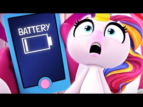 Fingerlings Tales | Gigi The Unicorn is Addicted to Her Phone | Kids Cartoons