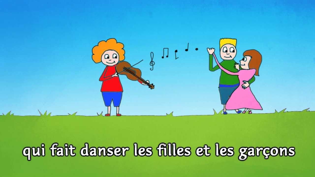 gugusse avec son violon