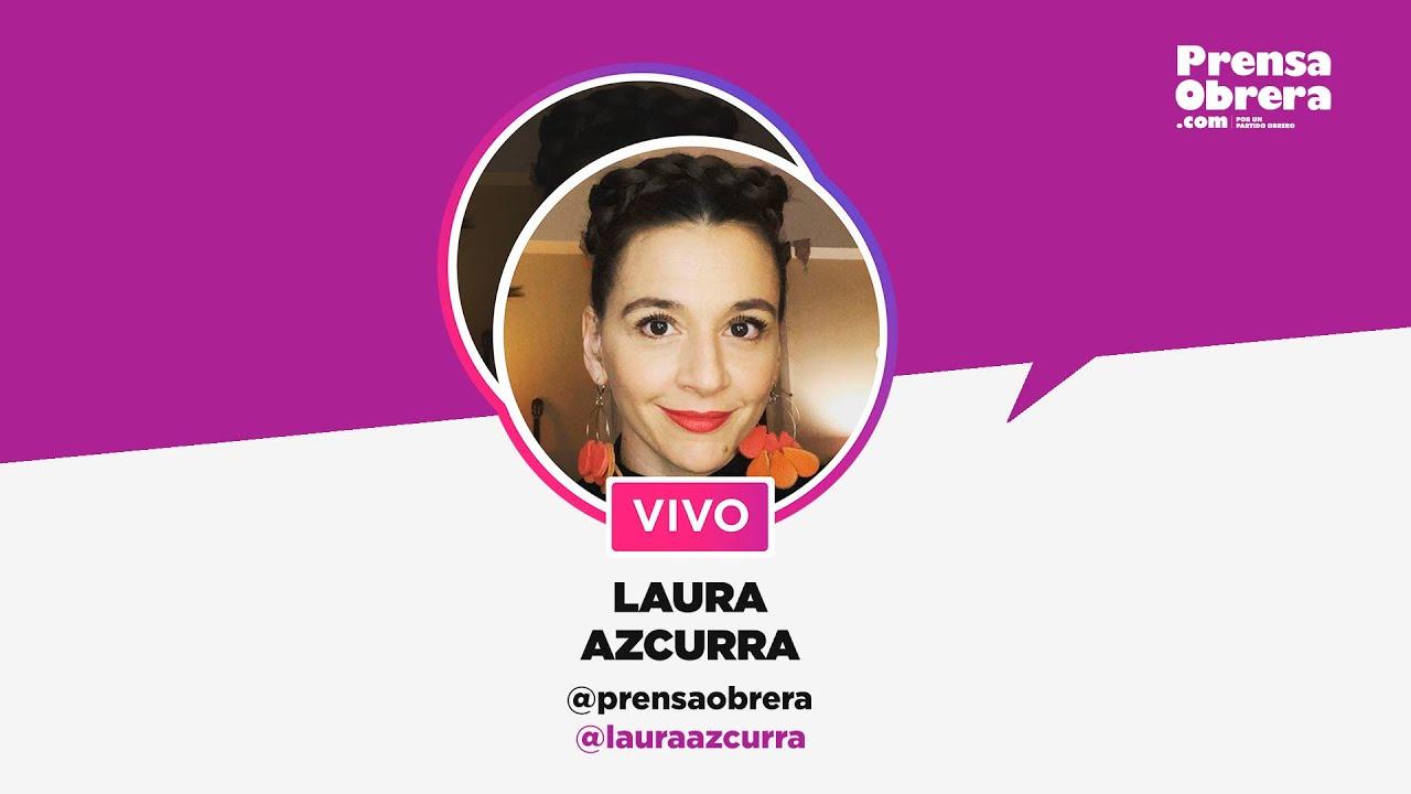 Entrevista a Laura Azcurra // Instagram Live