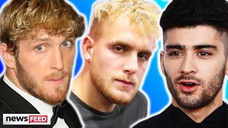 Logan Paul EXPOSES Video Of Jake's Feud With Zayn Malik!