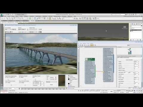 Using 3ds Max Design With Civil 3D - Part 19 - Creating An Animated Water Surface